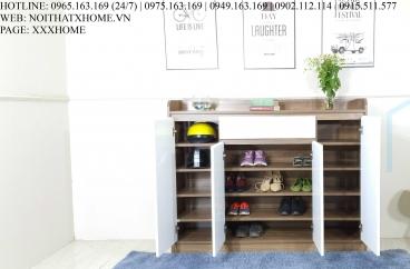 TỦ GIÀY GỖ CÔNG NGHIỆP X HOME HÀ NỘI ĐẸP TG6801 1