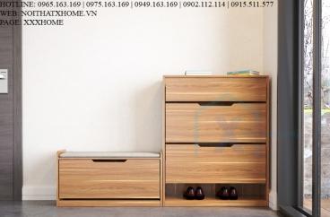 TỦ GIÀY THÔNG MINH X HOME 3 TRONG 1 TIỆN DỤNG - GT6807