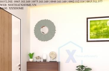 TỦ GIÀY THÔNG MINH X HOME 2 TẦNG CÁNH LẬT - TG6813