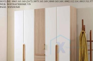 TỦ QUẦN ÁO TỦ ĐỒ GỖ X HOME Hà Nội Sài Gòn XHOME3305