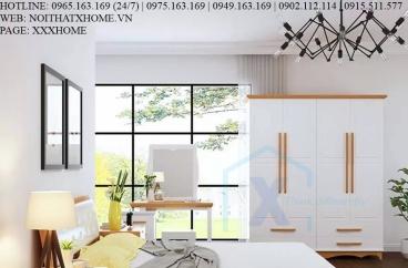 TỦ QUẦN ÁO TỦ ĐỒ GỖ X HOME Hà Nội Sài Gòn XHOME3310