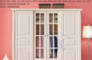 TỦ QUẦN ÁO TỦ ĐỒ GỖ X HOME Hà Nội Sài Gòn XHOME4413