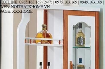 TỦ RƯỢU GỖ X HOME Hà Nội Sài Gòn Hồ Chí Minh XHOME1116