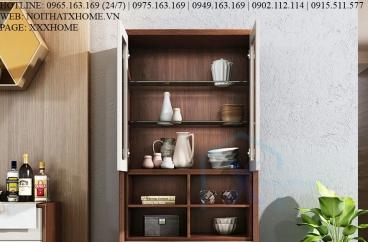 TỦ RƯỢU GỖ X HOME Hà Nội Sài Gòn Hồ Chí Minh XHOME1143