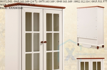 TỦ RƯỢU GỖ X HOME Hà Nội Sài Gòn Hồ Chí Minh XHOME2203