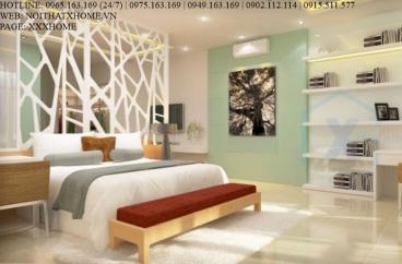 Mẫu vách CNC ngăn phòng ngủ giá rẻ X HOME Hà Nội