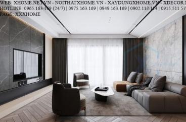 X HOME THIẾT KẾ CĂN HỘ CHUNG CƯ STELLAR GARDEN 150 M2