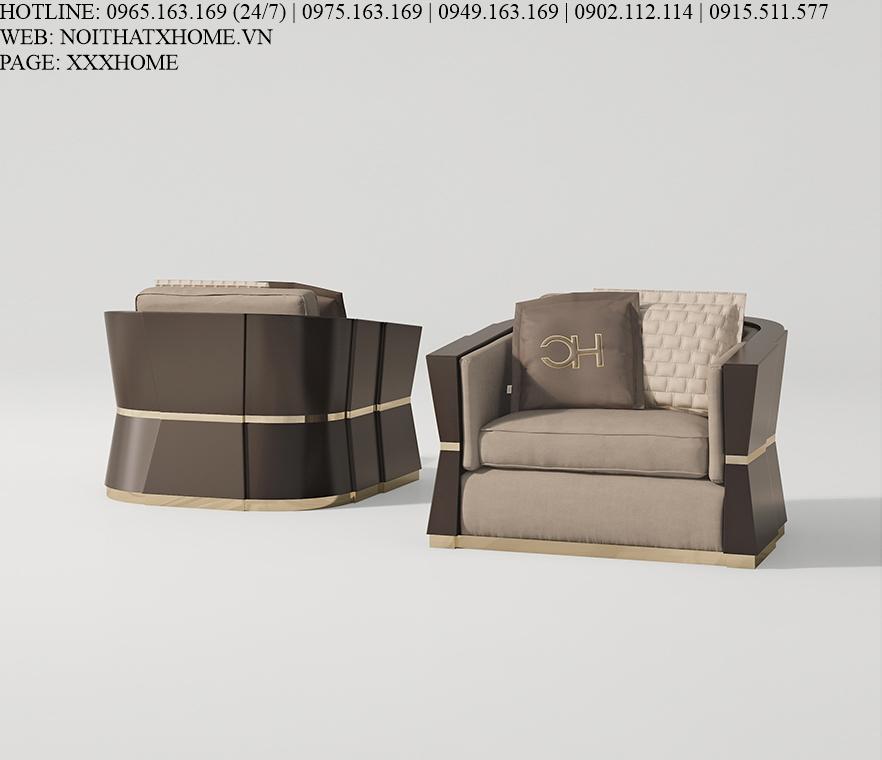 Sofa ghế đơn Carpanese Home - Art.7537 X HOME Hà Nội