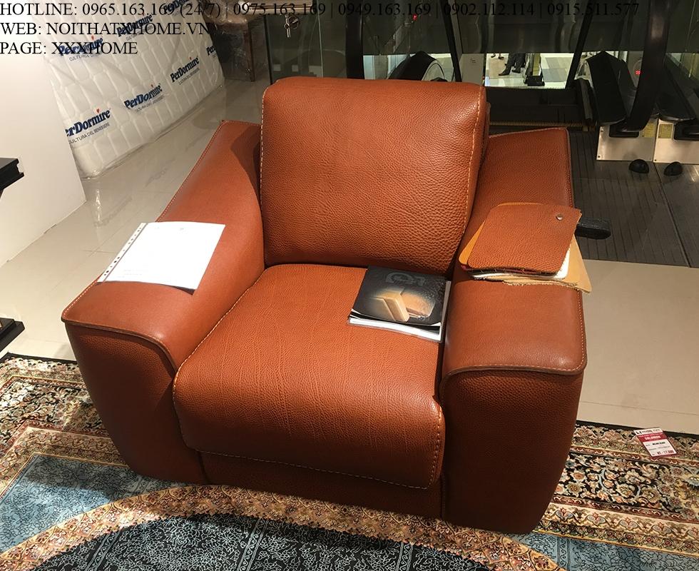 Bộ sofa Cattaneo - Waco Country Cognac X HOME Hà Nội