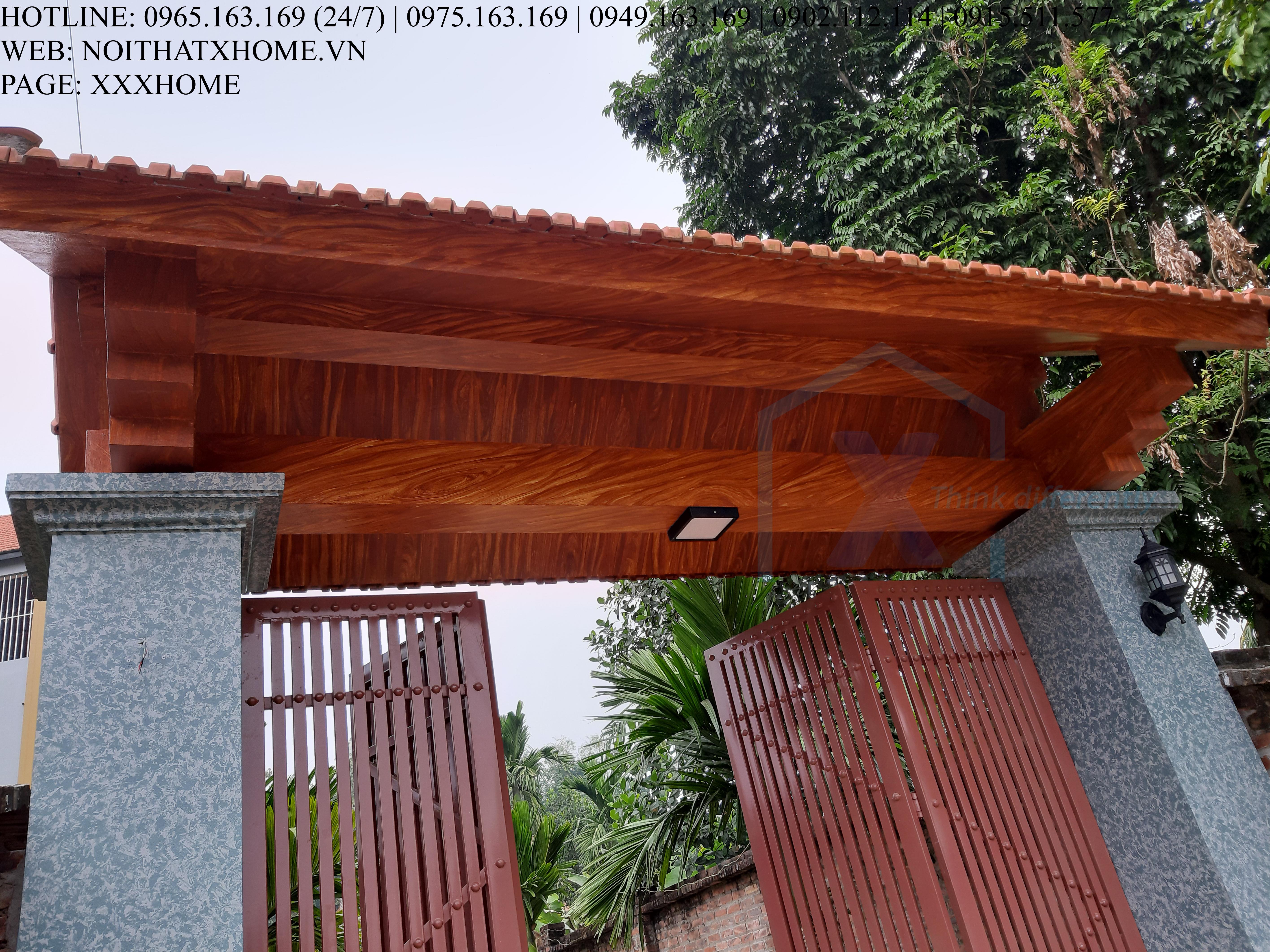Mẫu giả gỗ đẹp X HOME Hà Nội