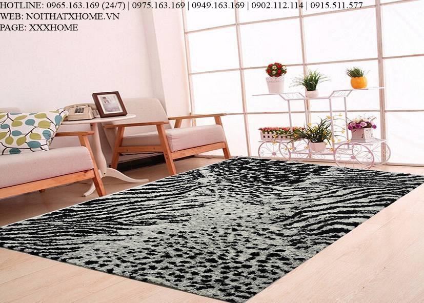 Thảm lông xù TLX6804 X HOME Hà Nội