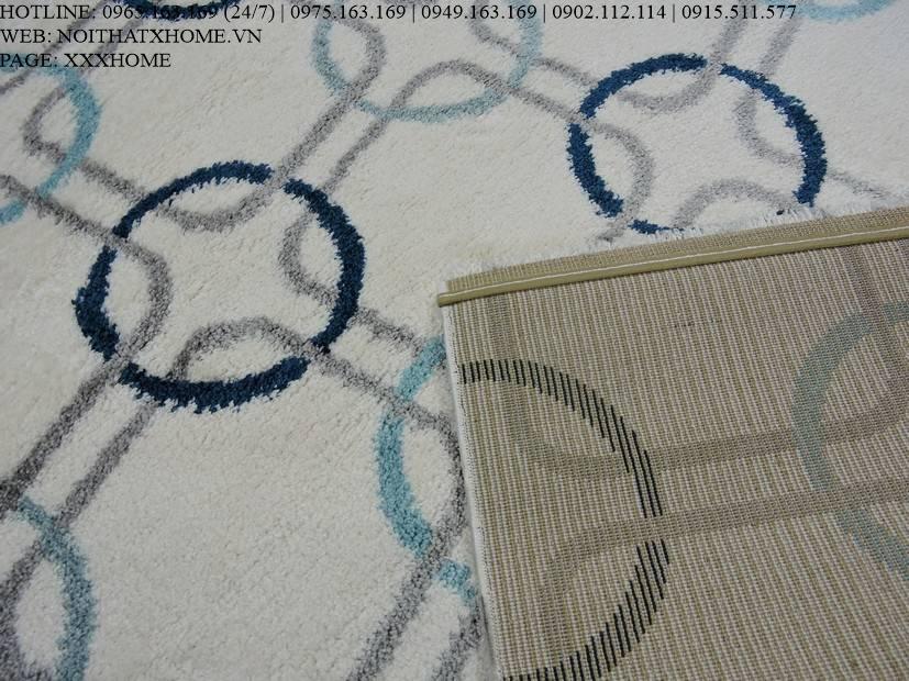 Thảm lông xù TLX6808 X HOME Hà Nội