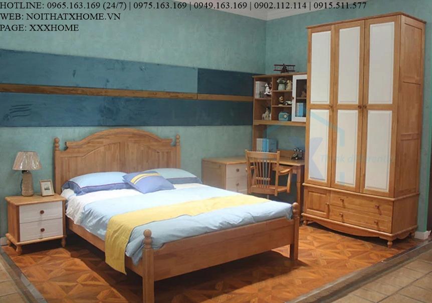 TỦ QUẦN ÁO TỦ ĐỒ GỖ X HOME Hà Nội Sài Gòn XHOME4411