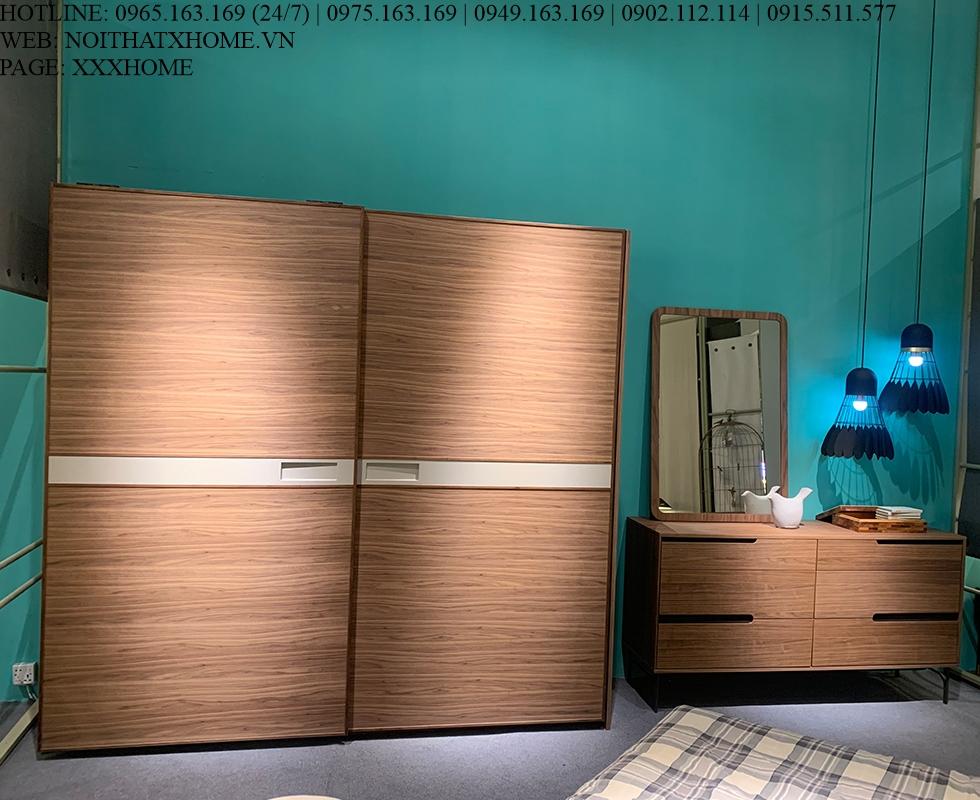 Tủ quần áo cánh lùa Centro Casa – Anna X HOME Hà Nội