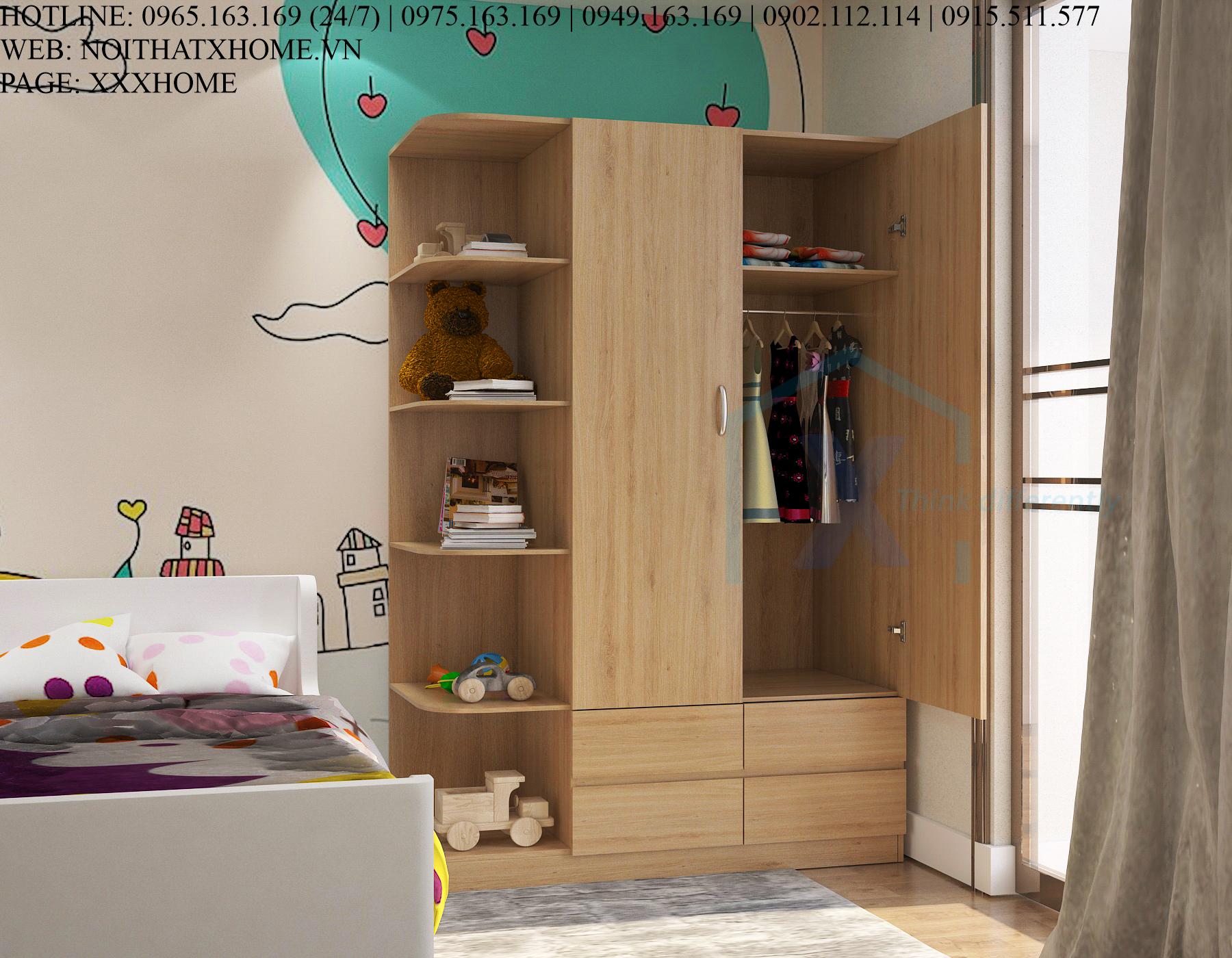 Tủ quần áo thông minh X HOME Hà Nội