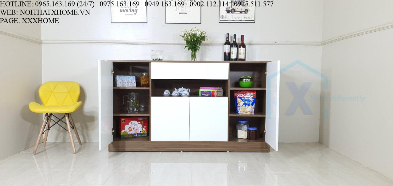MẪU TỦ ĐỒ TRANG TRÍ X HOME ĐẸP TD6809