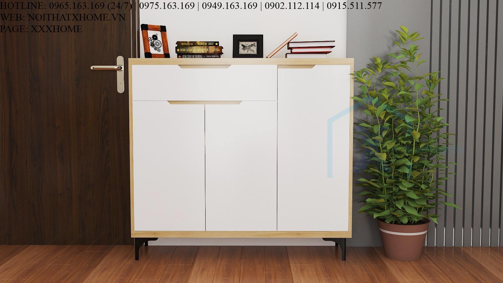 TỦ GIÀY GỖ CÔNG NGHIỆP X HOME HÀ NỘI TG6808 1