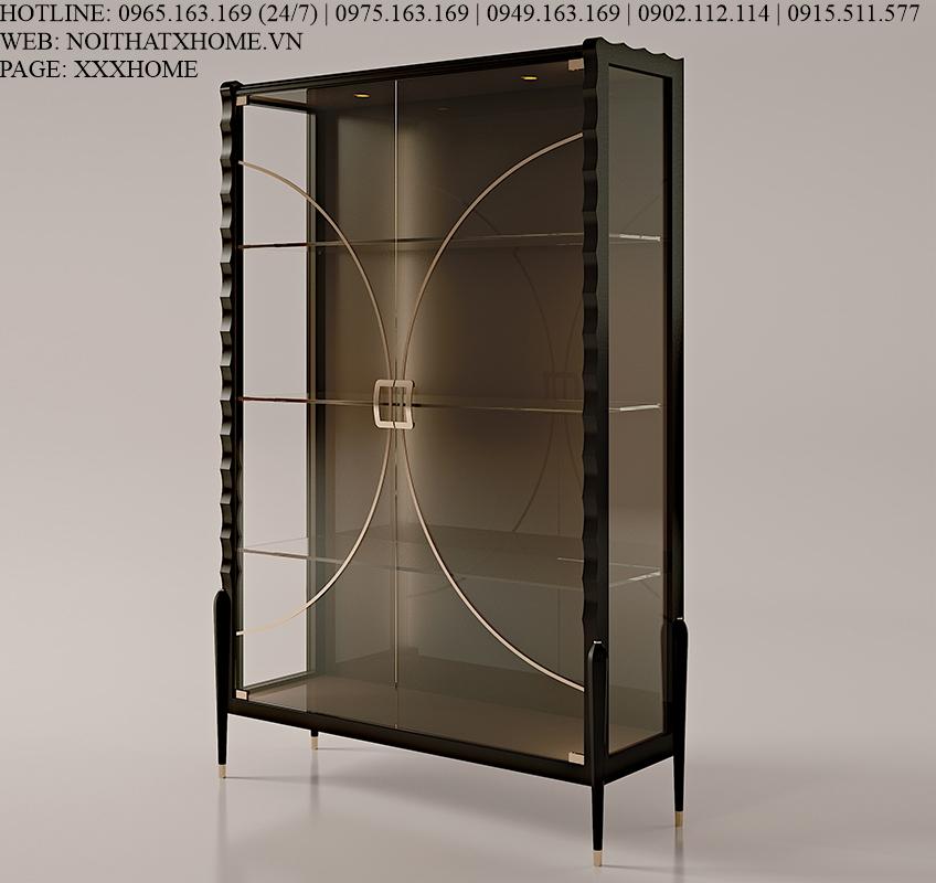 Tủ rượu 2 cánh Carpanese Home - Art.7008 X HOME Hà Nội