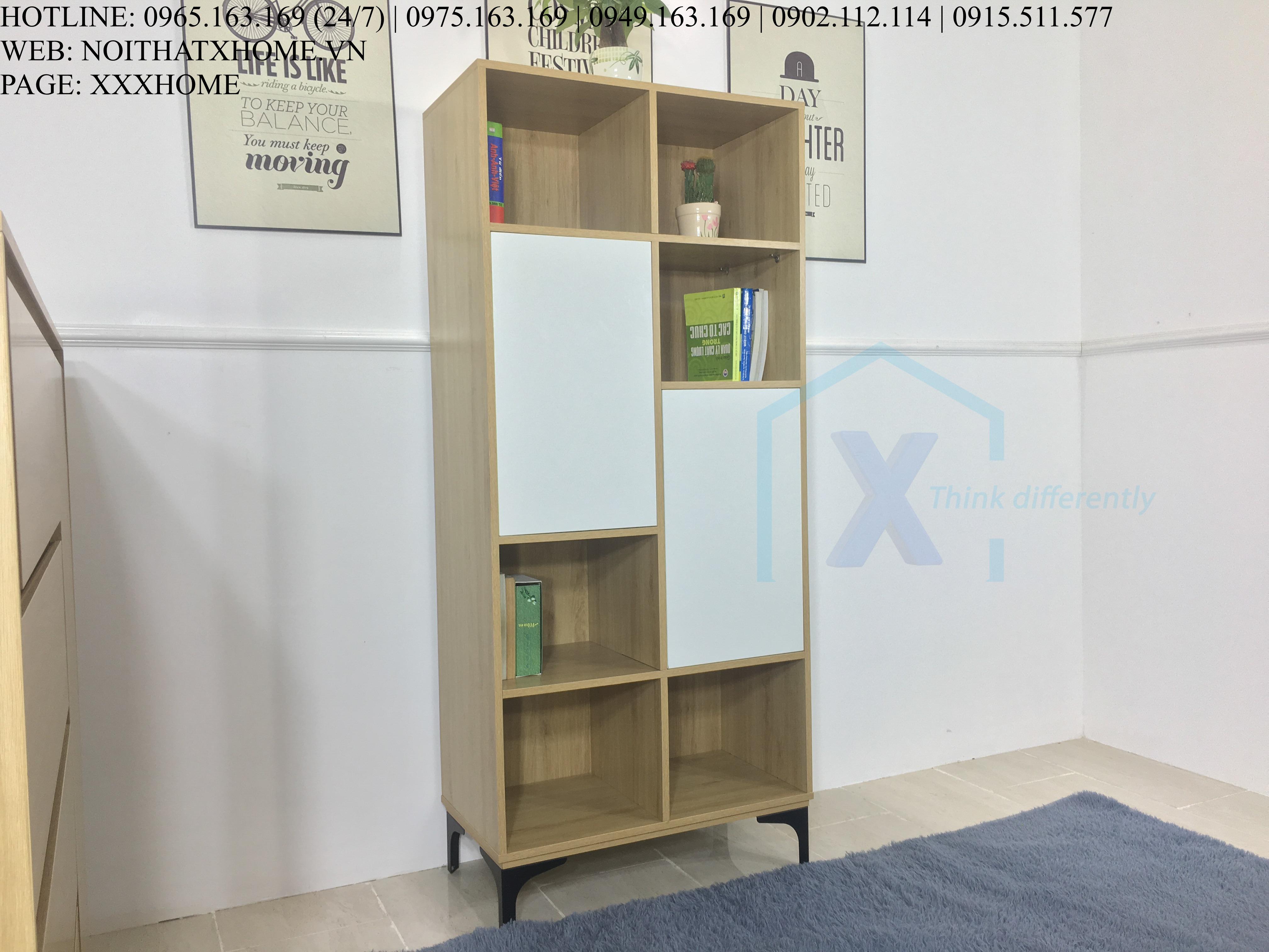 Tủ sách phòng khách X HOME TS6801