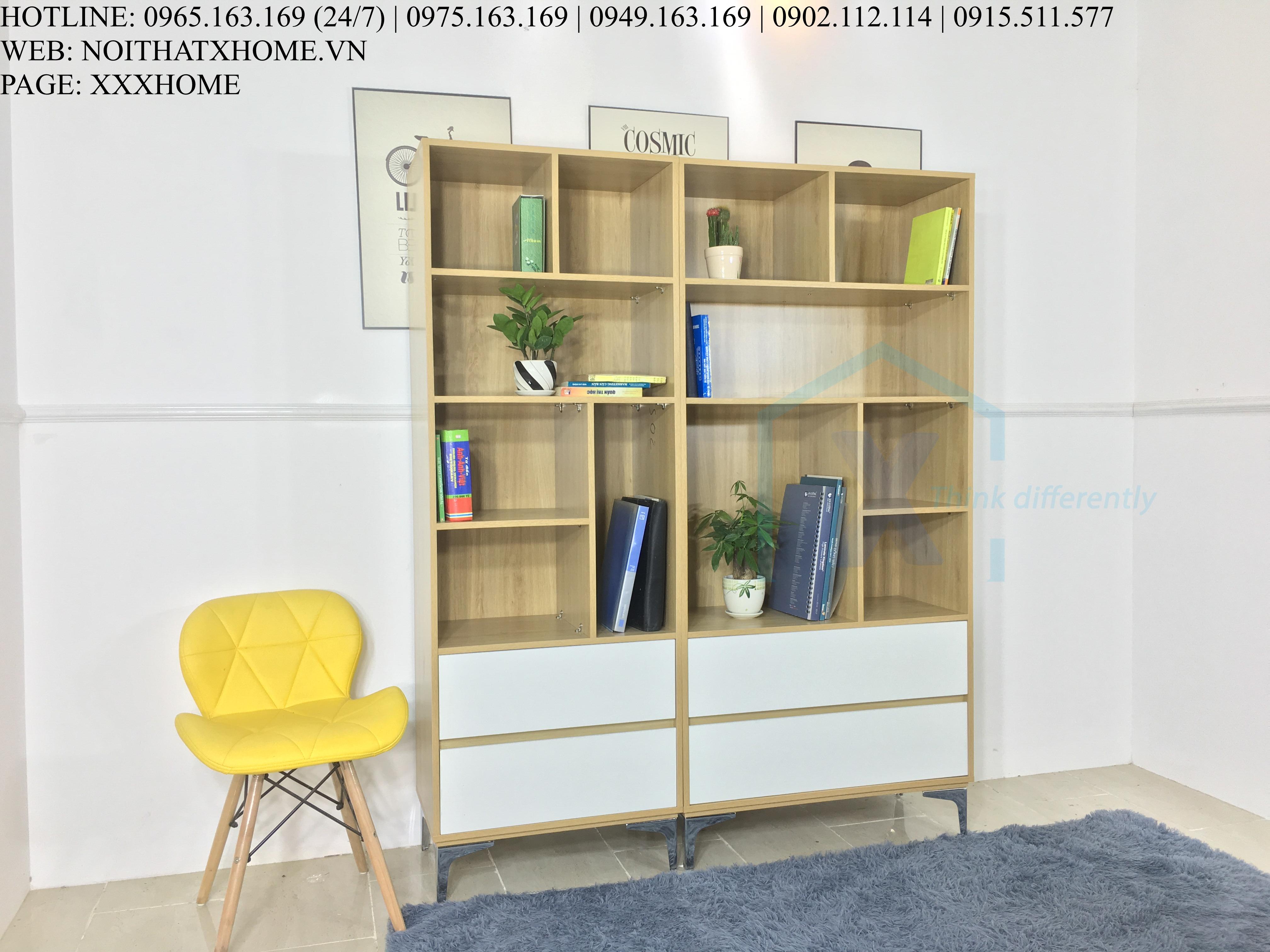 Tủ sách phòng khách X HOME TS6805 1