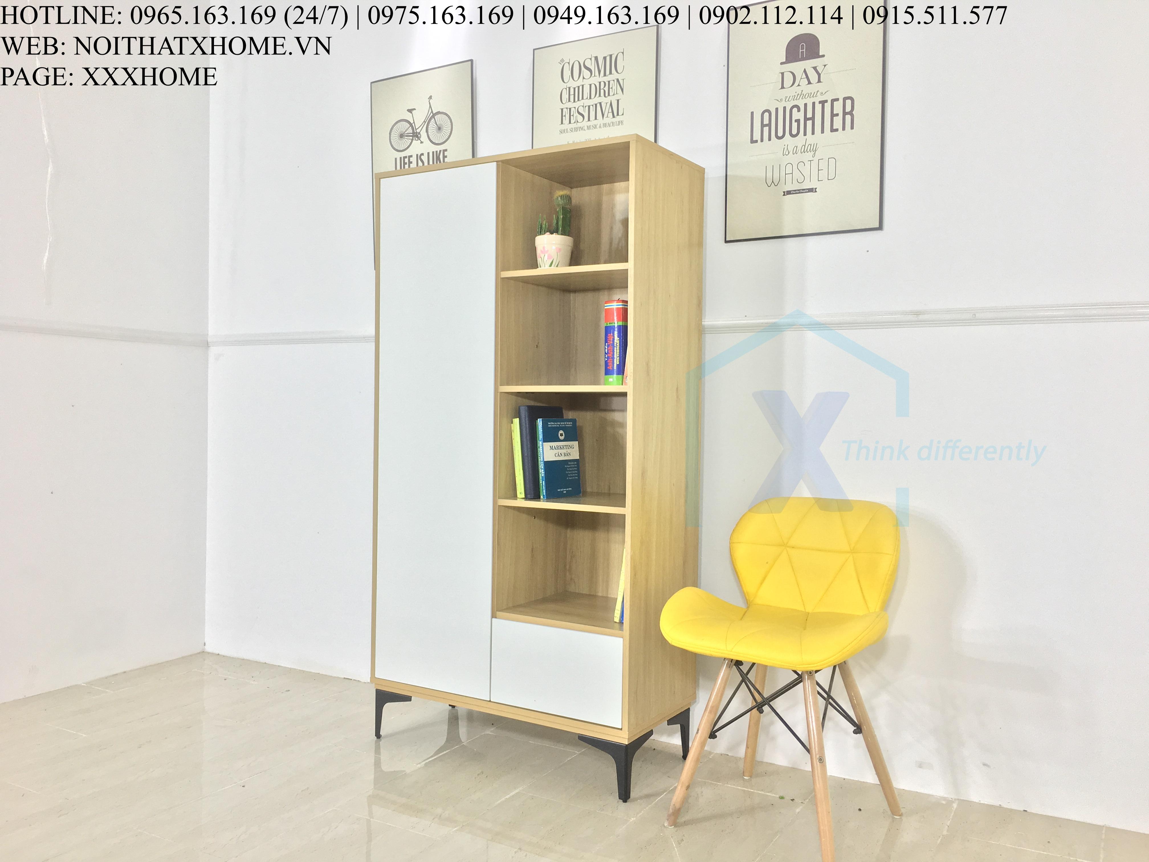 Tủ sách kệ sách giá sách thông minh X HOME Hà Nội